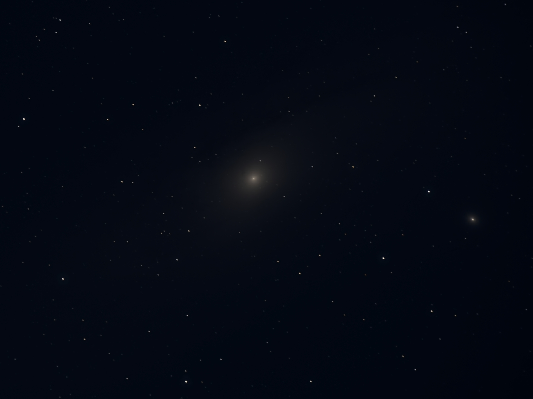 Image of the Andromeda Galaxy