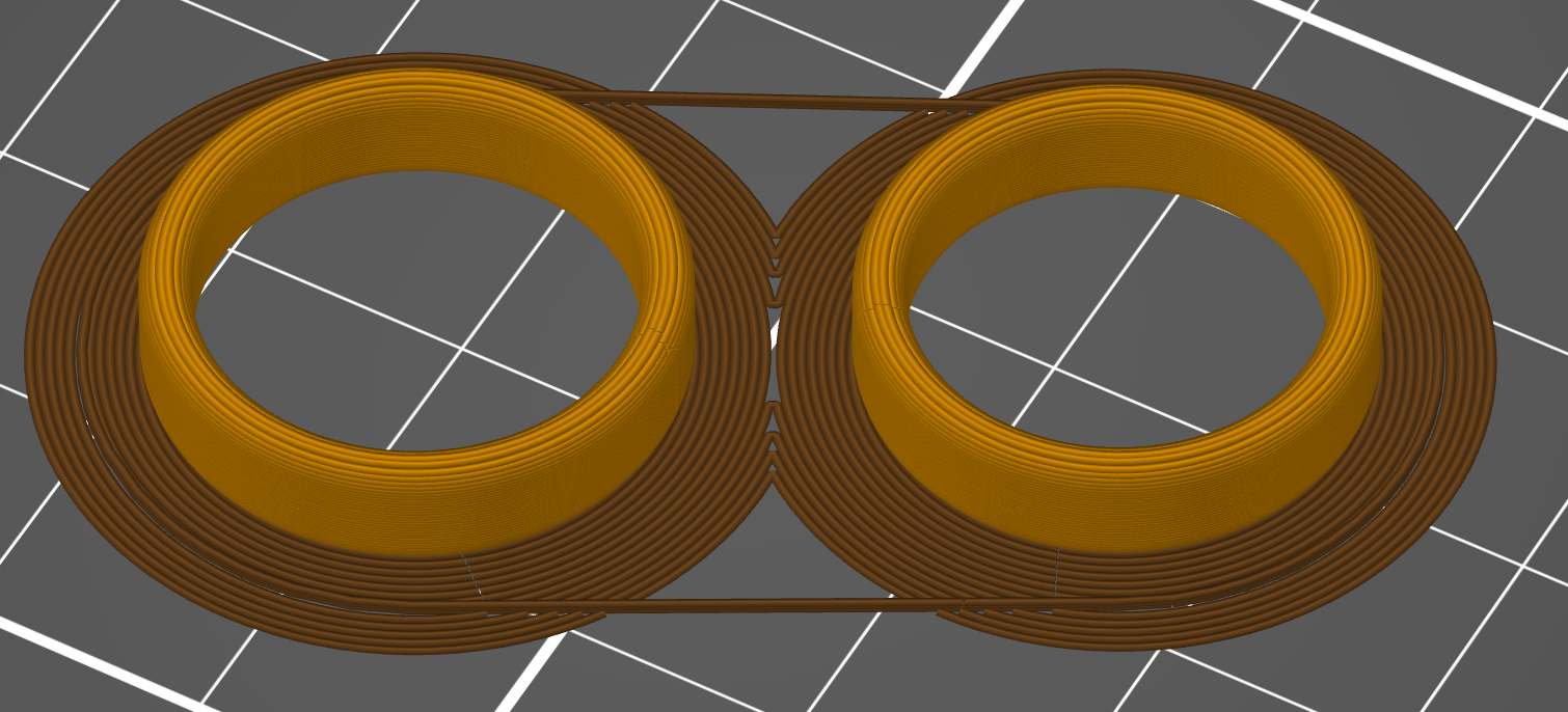 PruseSlicer render of our rings